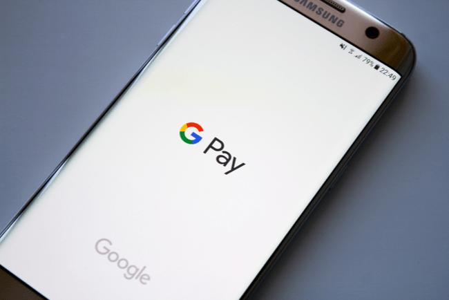 En bild på appen Google Pay