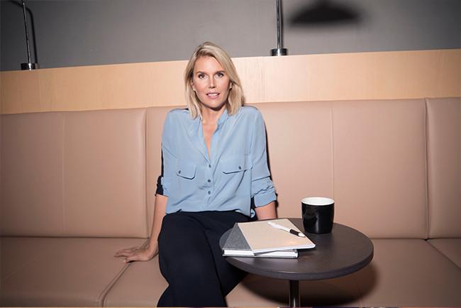 Erika Eliasson, chef för investerarrelationer på Lendify