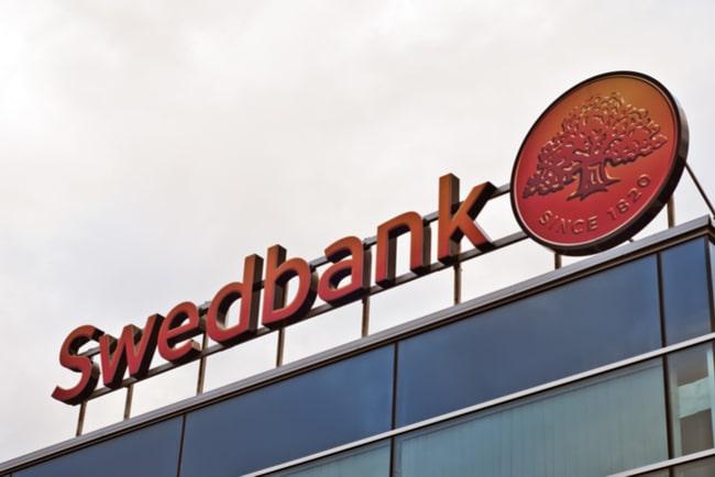 En bild på Swedbanks logga