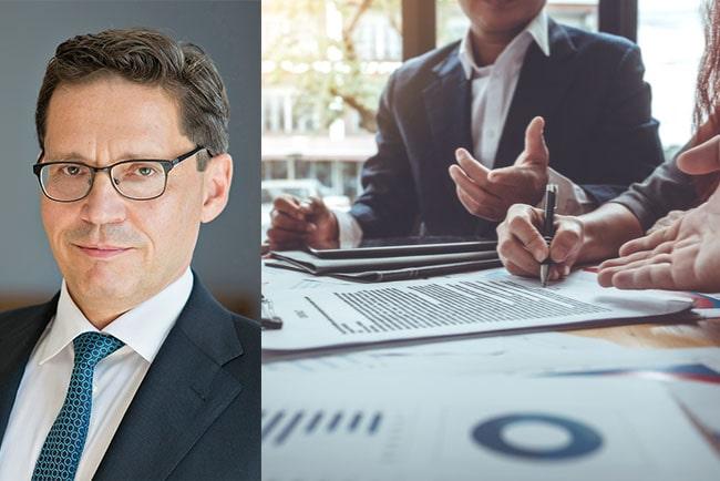 Hans Lindberg, vd för svenska bankföreningen
