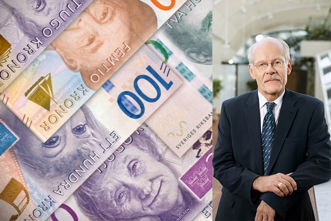 svenska sedlar och stefan ingves, riksbankschef
