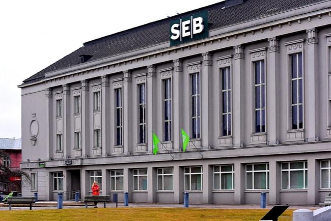 SEB:s byggnad i Estland