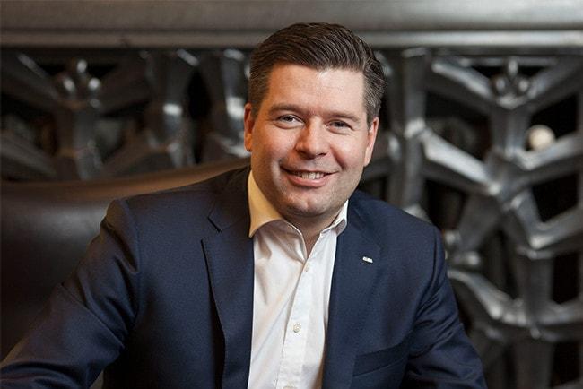 Johan Torgeby, chef för SEB