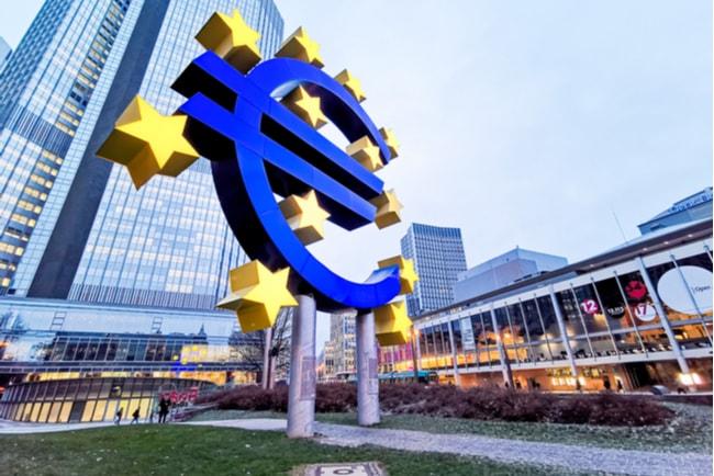 Europeiska centralbankens huvudkontor.