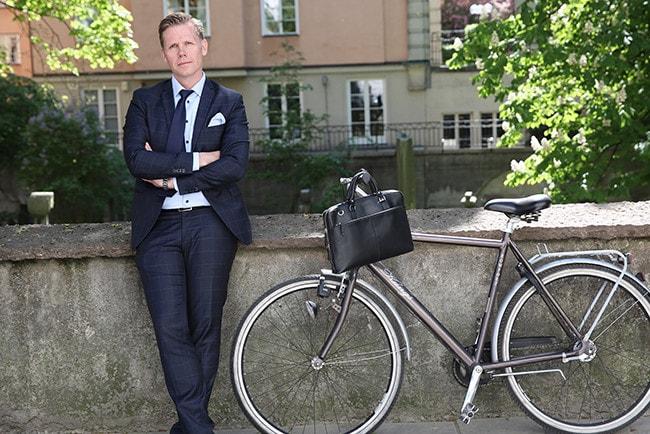 Nordnets Sverigechef Martin Ringberg