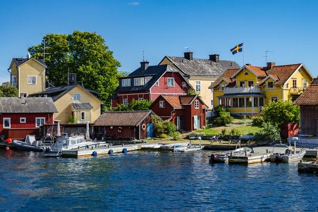 Sandhamn i Stockholms skärgård