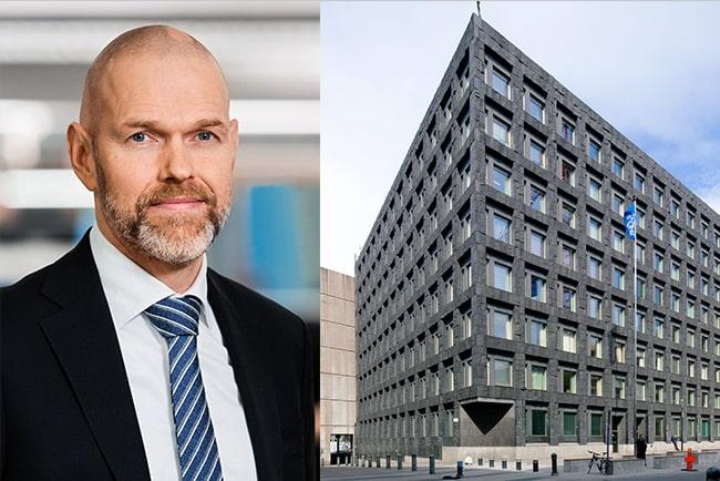 chefsanalytiker torbjörn isaksson, nordea, och riksbankshuset i stockholm
