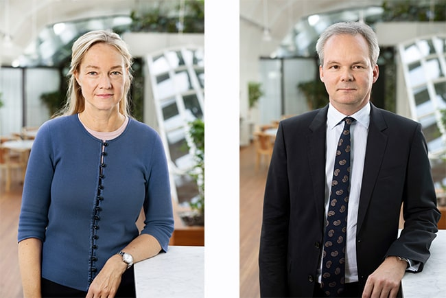 cecilia skingsley, förste vice riksbankschef, per jansson, vice riksbankschef